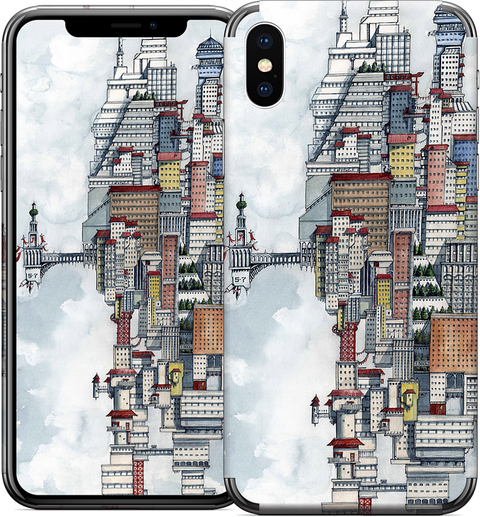 The Wizard iPhone Skin