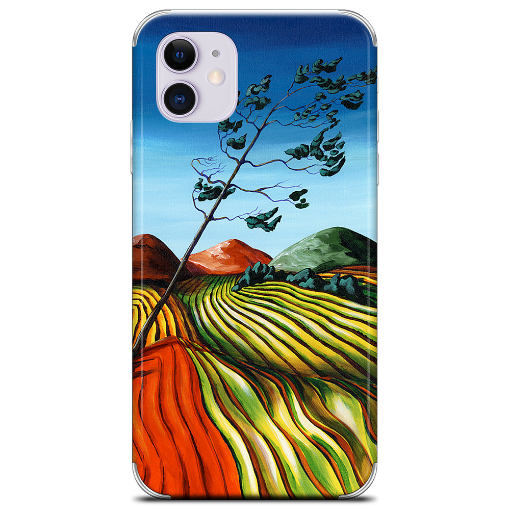 Windswept Fields iPhone Skin