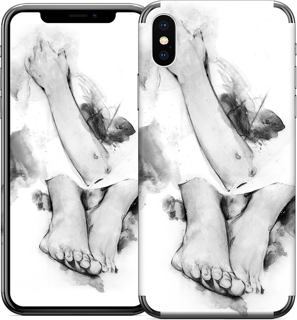 body parts in simulacra   iPhone Skin