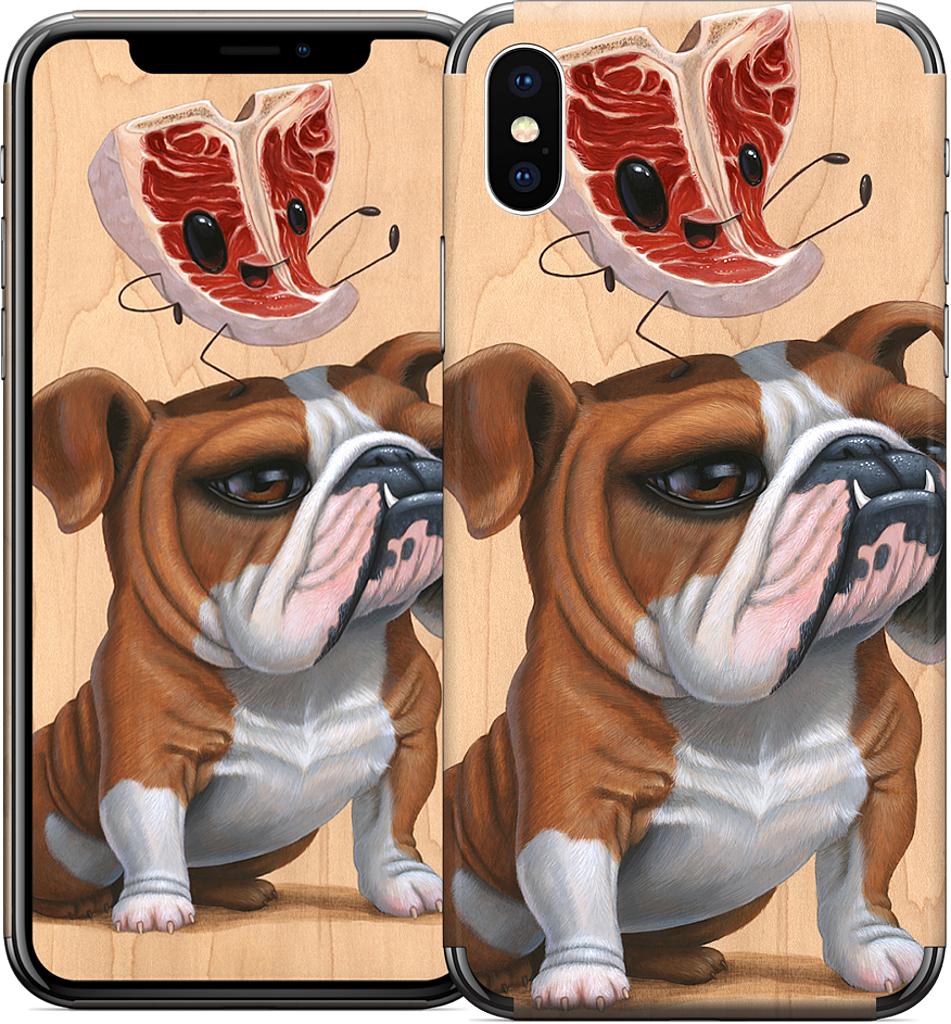 Meathead iPhone Skin
