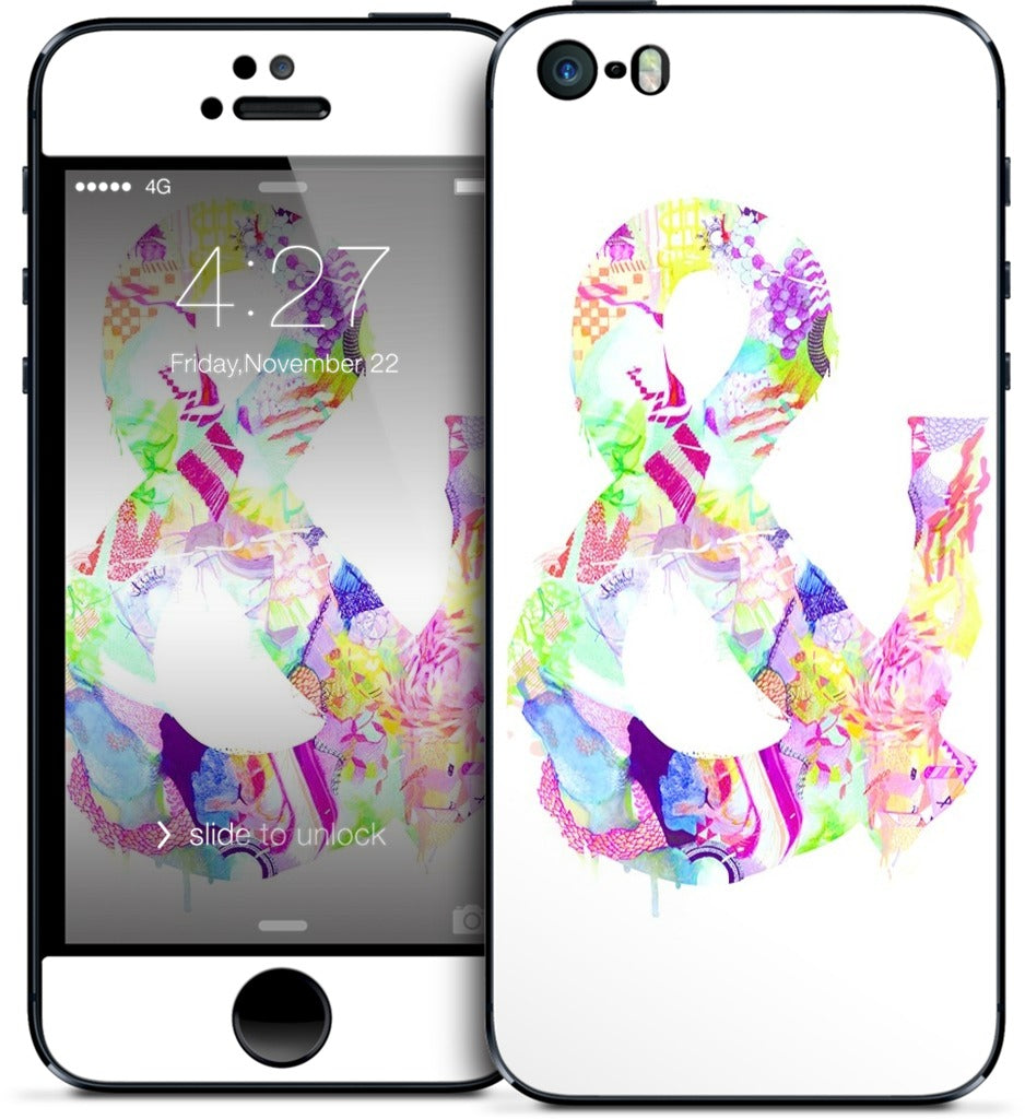 Ampersand #2 iPhone Skin