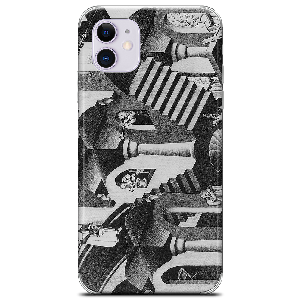 Concave and Convex iPhone Skin