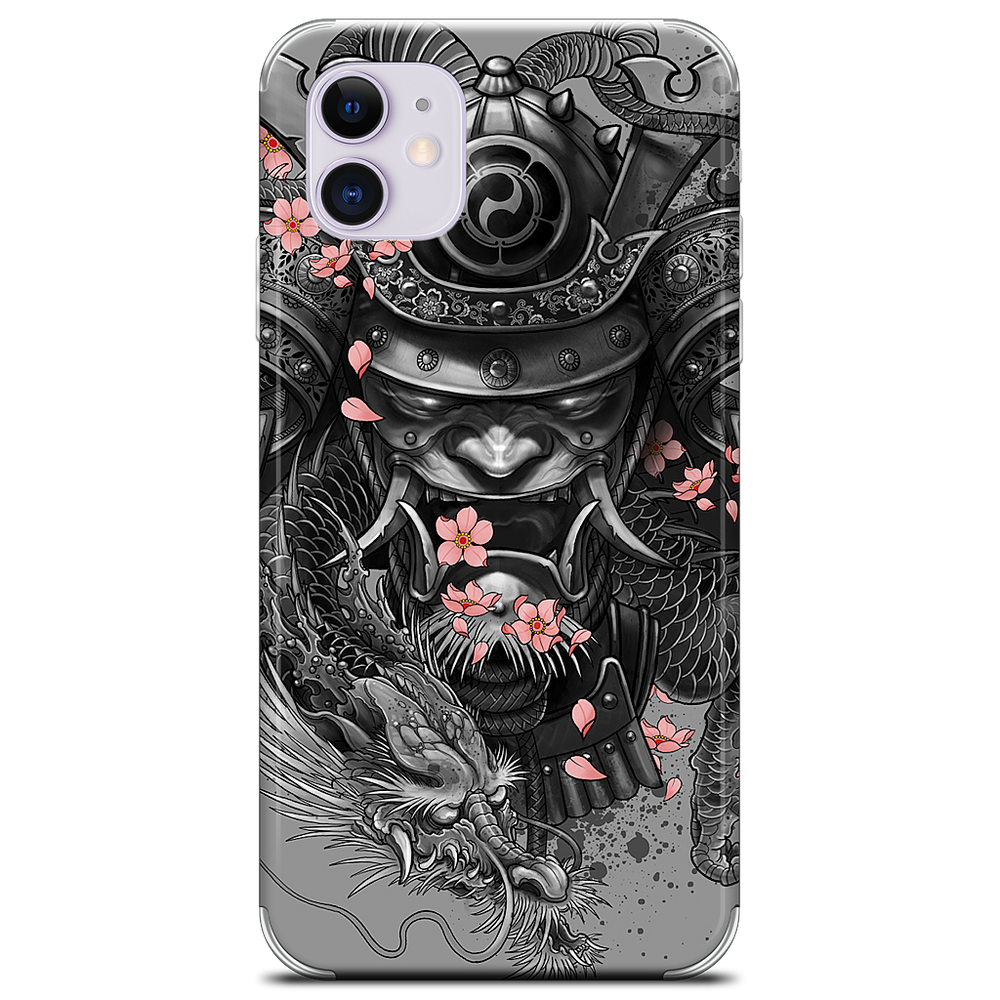 Samurai Dragon iPhone Skin