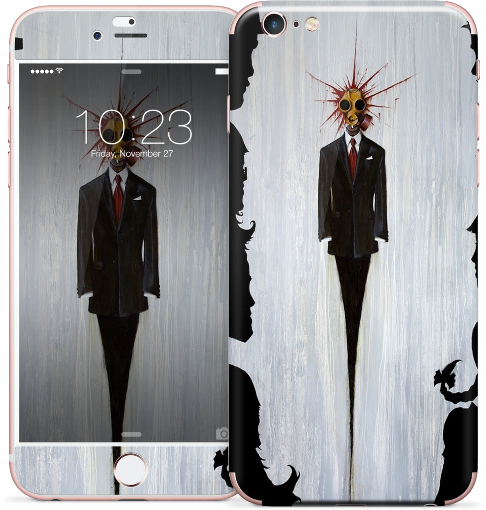 Just until I can afford to be Happy iPhone Skin