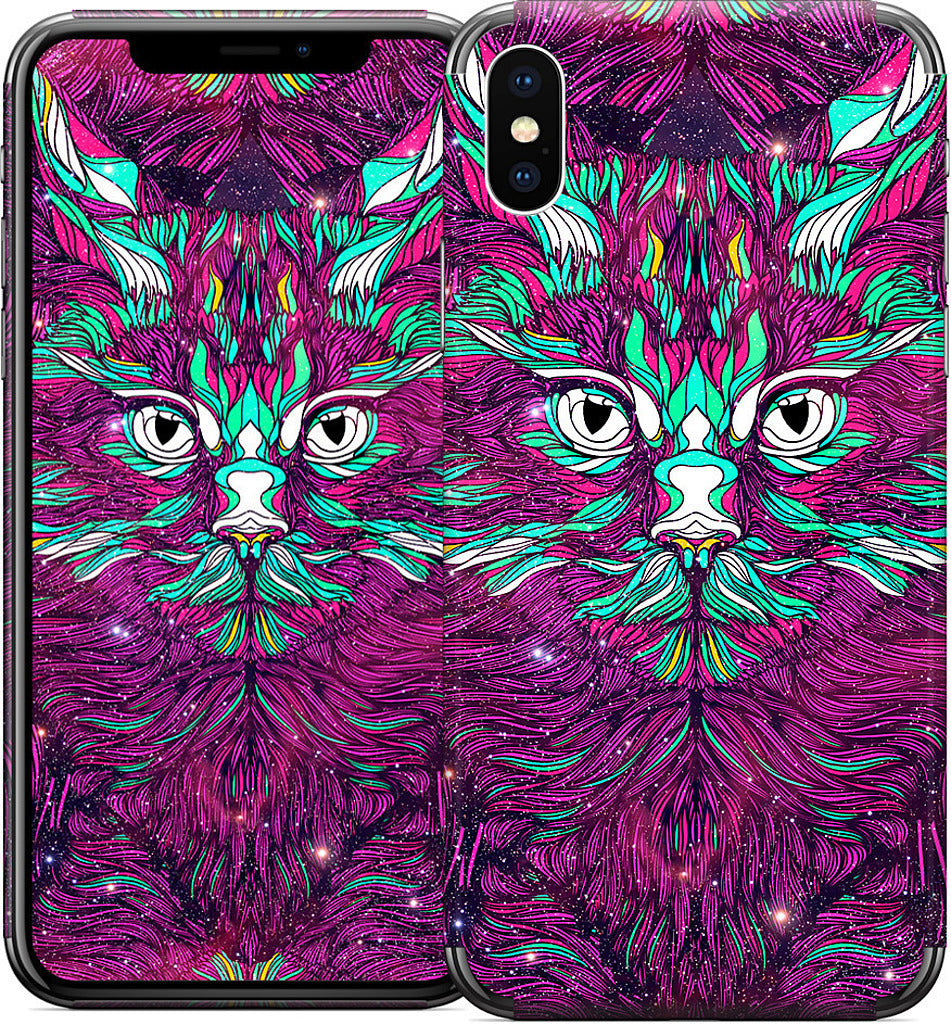 Space Cat iPhone Skin