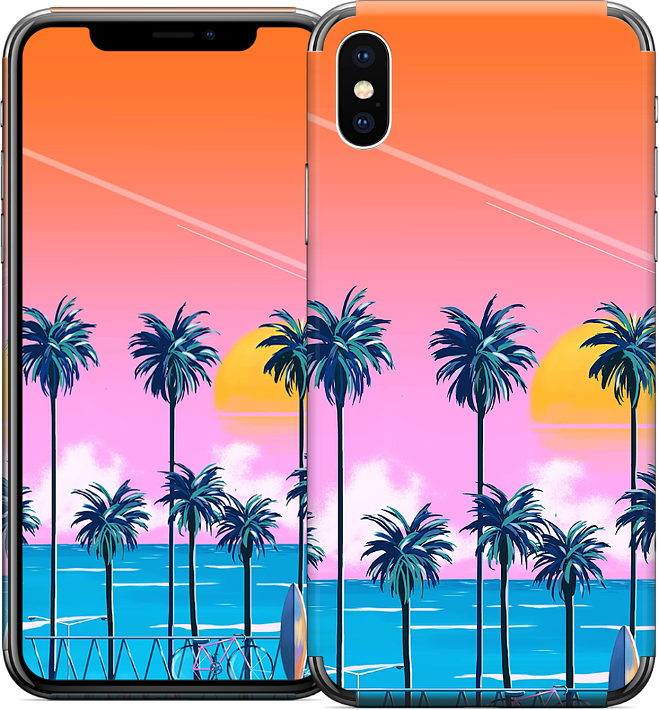 Sunset Lovers iPhone Skin