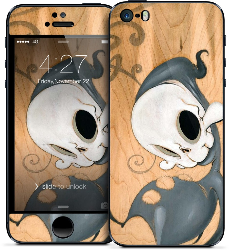I Can't Get Them Out Of My Mind iPhone Skin
