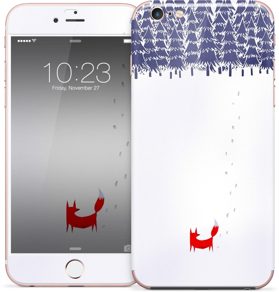 Alone in the Forest iPhone Skin