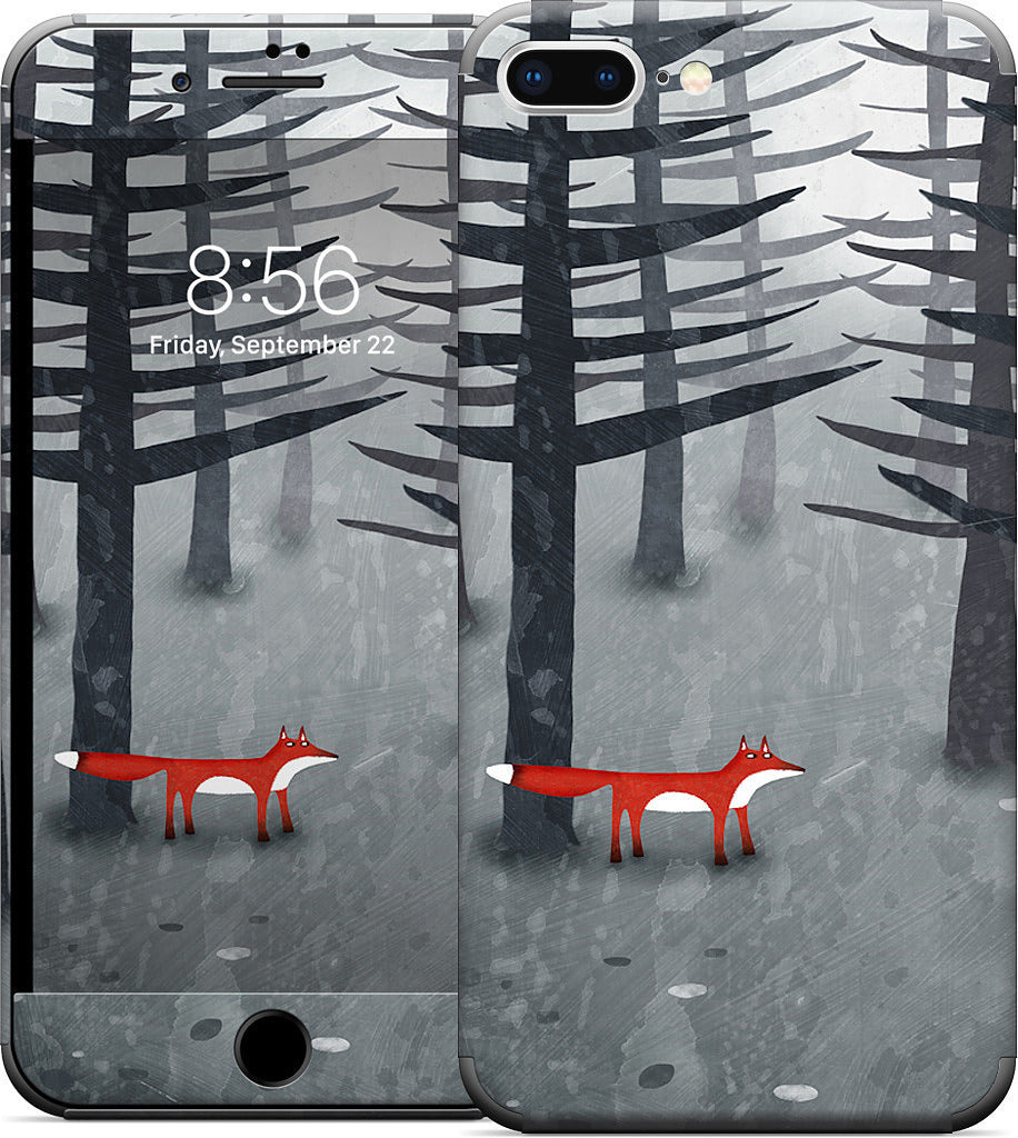 The Fox and the Forest iPhone Skin