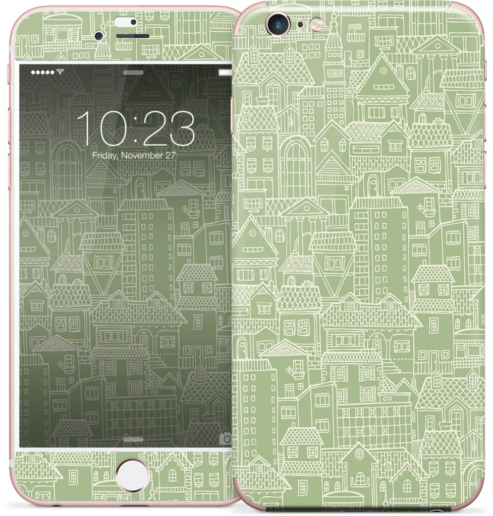 Houses iPhone Skin