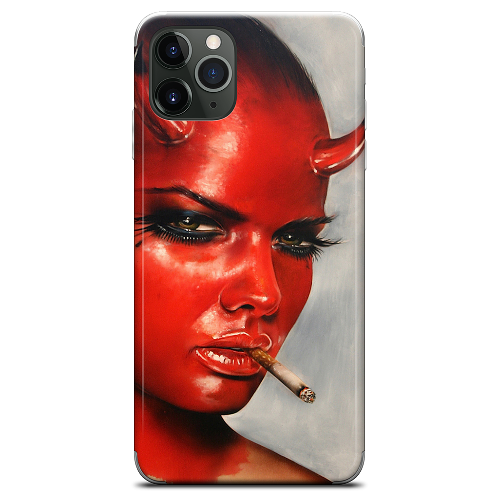 Devil In All Of Us iPhone Skin