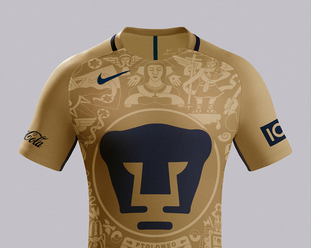 1a1985c00 Mexican club PUMAS and Nike have released quite possibly the most  interesting and unique home and away kits for the upcoming season.