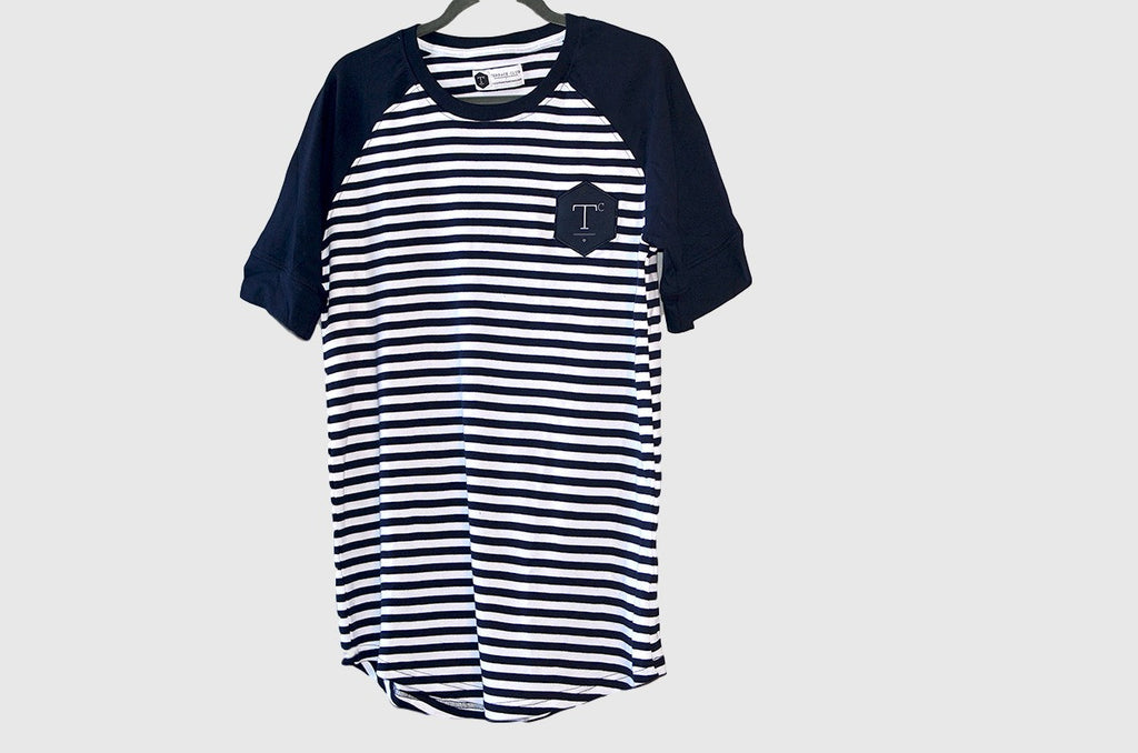 The Terrace Club Raglan - Navy