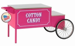 Paragon's Large Pink Cotton Candy Cart