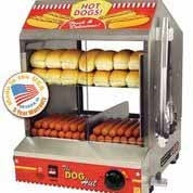 Paragon's The Dog Hut Hot Dog Steamer - FREE SHIPPING!!