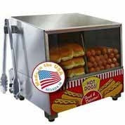 Paragon's Classic Dog Hot Dog Steamer
