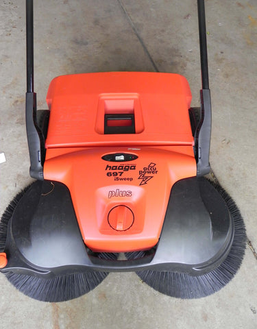 Bissell BigGreen Commercial BG697 Triple Brush Sweeper System - FREE SHIPPING!!