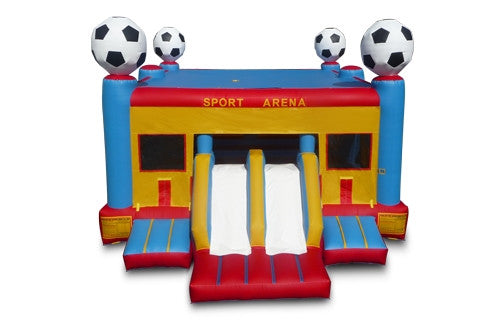 Large Soccer Bounce & Slide Combo - FREE SHIPPING!!