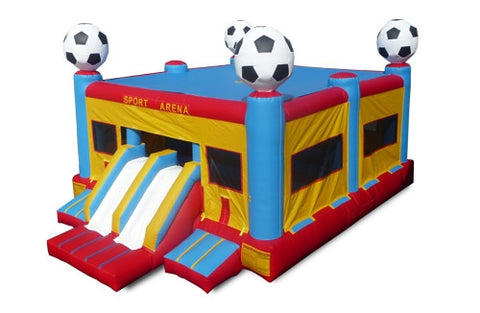 Large Soccer Bounce & Slide Combo