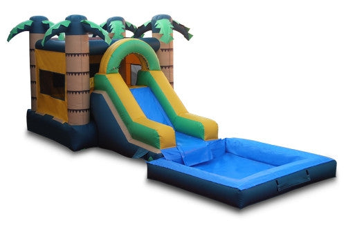 Tropical Bounce Combo with Pool - FREE SHIPPING!!