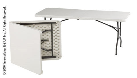 EZ-UP 2.5 ft x 6 ft Vendor Table