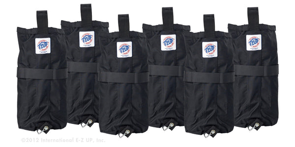 EZ-UP Deluxe Weights Bags - 6 Pack - FREE SHIPPING!!