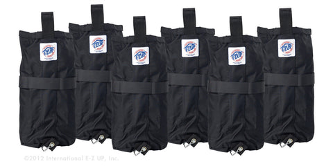 EZ-UP Deluxe Weights Bags - 6 Pack