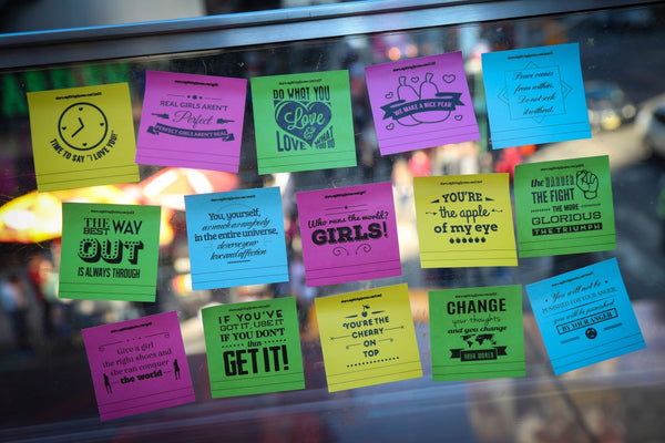 Inspirational Sticky Notes Motivational Quotes