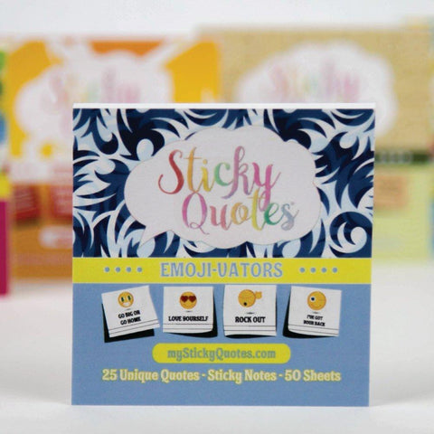 Emoji Sticky Notes - Emoji Party Supplies & Favors