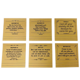 Study Bible Sticky Notes - Scripture Notes for Prayer & Inspirational Reminders (V1)