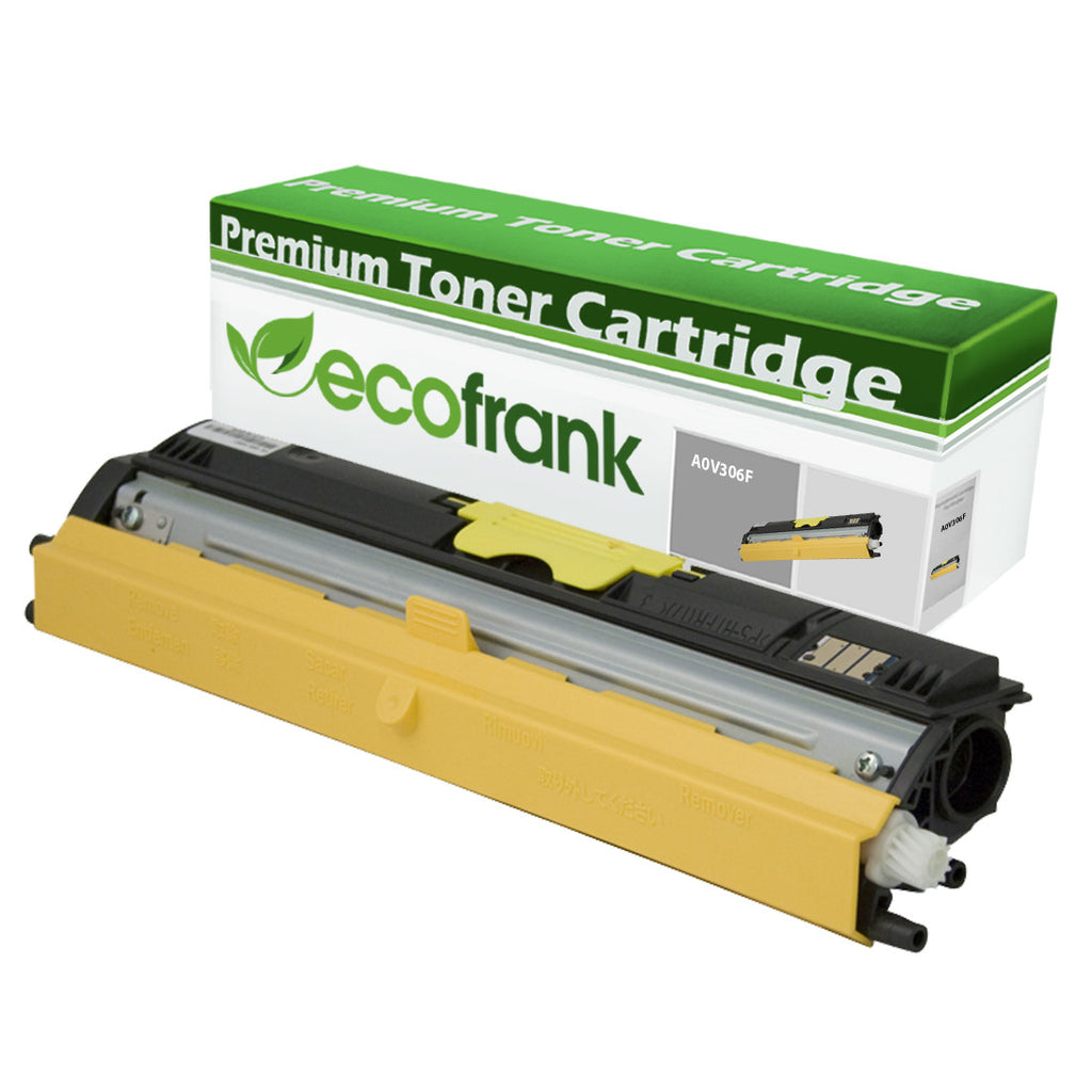 EcoFrank Compatible (High Yield) Toner Cartridge Replacement for Konica A0V306F (Black, 1-Pack)