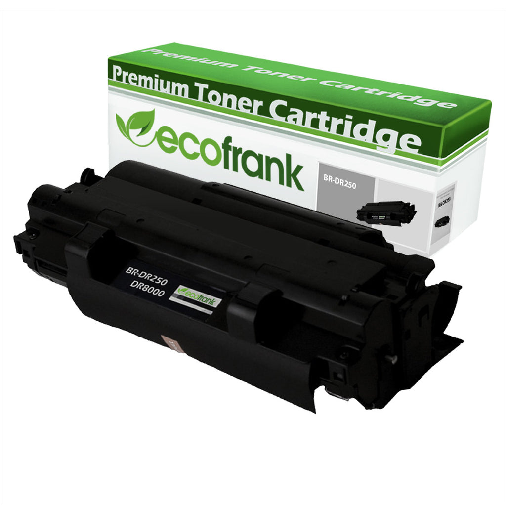 EcoFrank Compatible Drum Unit Replacement for Brother DR250 (Black, 1-Pack)