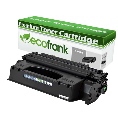 EcoFrank Compatible (High Yield) Toner Cartridge Replacement for Canon 53X Q7553X (Black, 1-Pack)
