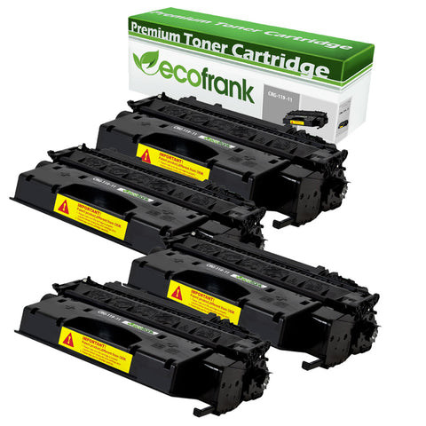 EcoFrank Compatible (High Yield) Toner Cartridge Replacement for Canon CRG-119 11 3480B001AA (Black, 4-Pack)