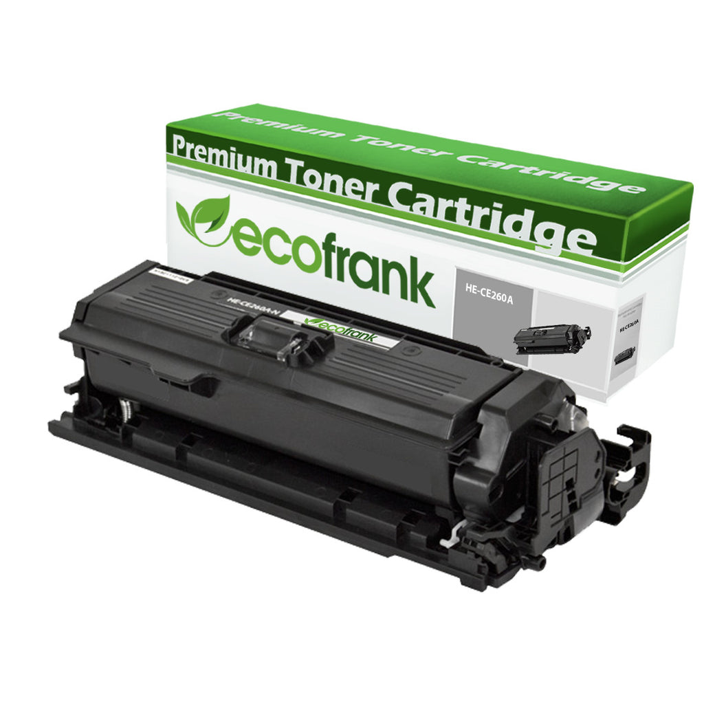 EcoFrank Compatible Toner Cartridge Replacement for HP 647a CE260a (Black, 1-Pack)