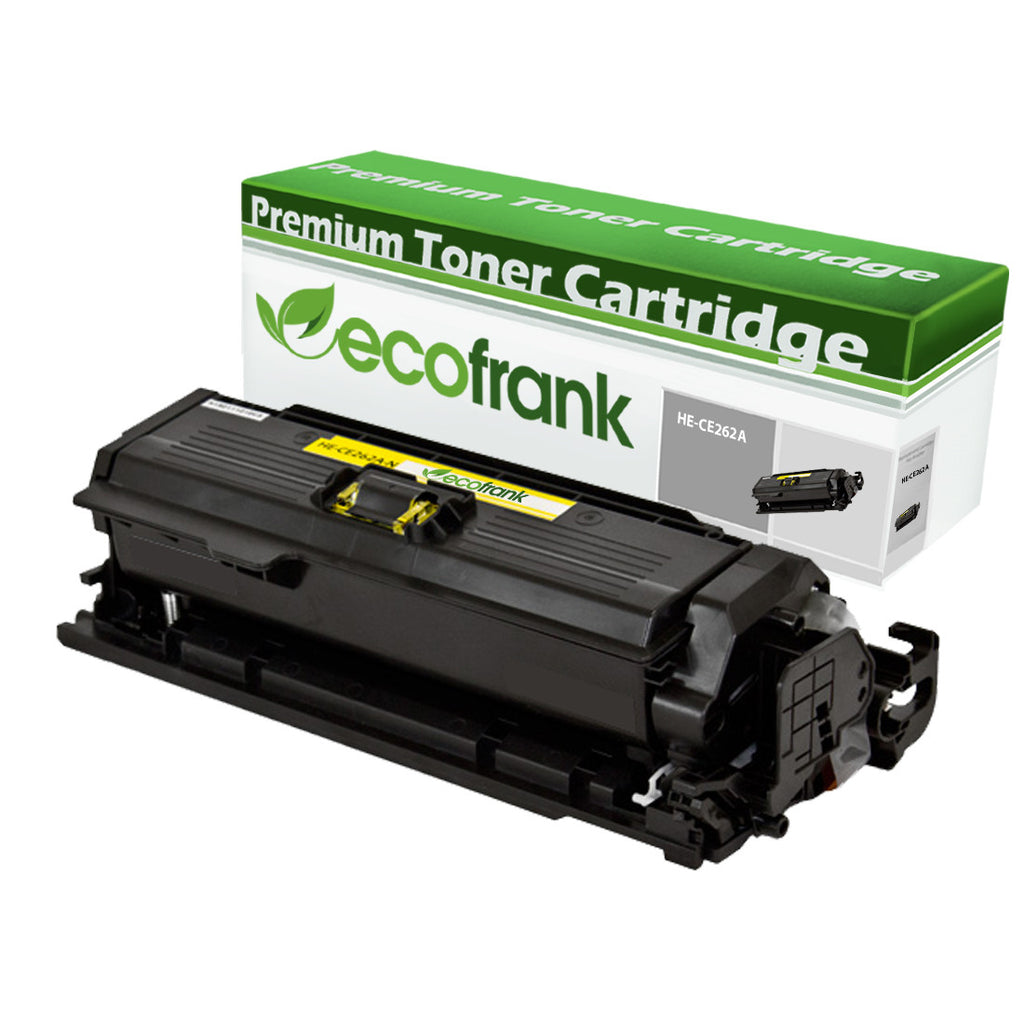 EcoFrank Compatible Toner Cartridge Replacement for HP 648A CE262A (Yellow, 1-Pack)