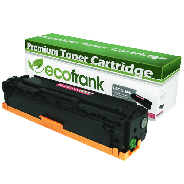 EcoFrank Compatible Toner Cartridge Replacement for HP 131A CF213A (Magenta, 1-Pack)