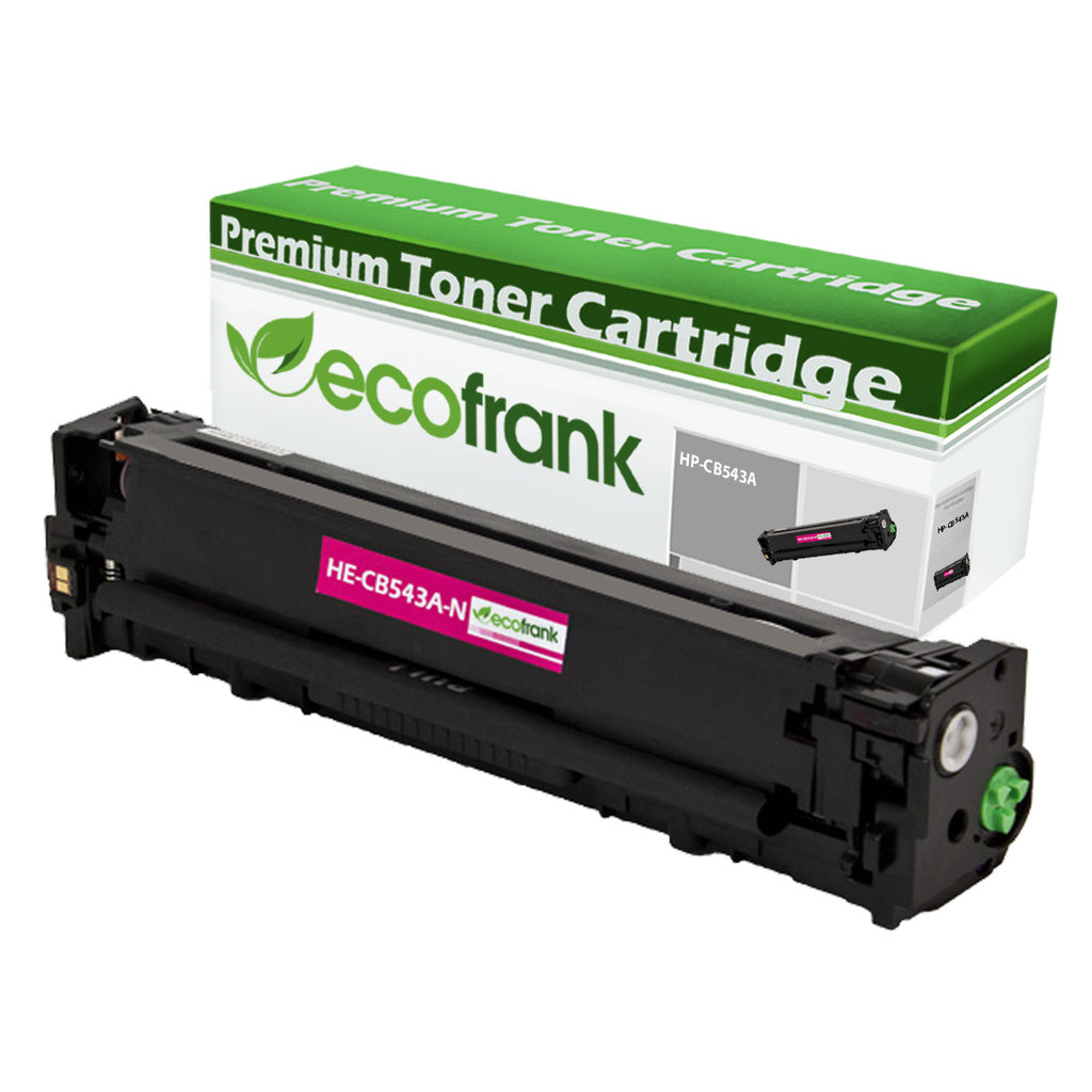 EcoFrank Compatible Toner Cartridge Replacement for HP 125A CB543A (Black, 1-Pack)