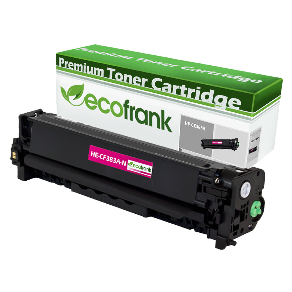 EcoFrank Compatible Toner Cartridge Replacement for HP 312A CF383A (Black, 1-Pack)