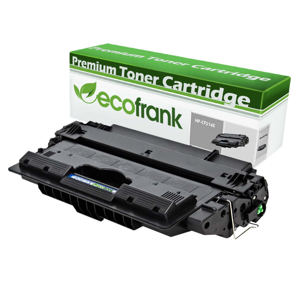 EcoFrank Compatible (High Yield) Toner Cartridge Replacement for HP 14X CF214X (Black, 1-Pack)