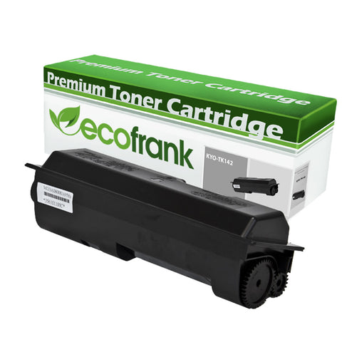EcoFrank Compatible (4K Standard Yield) Toner Cartridge Replacement for Kyocera TK140 TK142 TK144 (Black, 1-Pack)