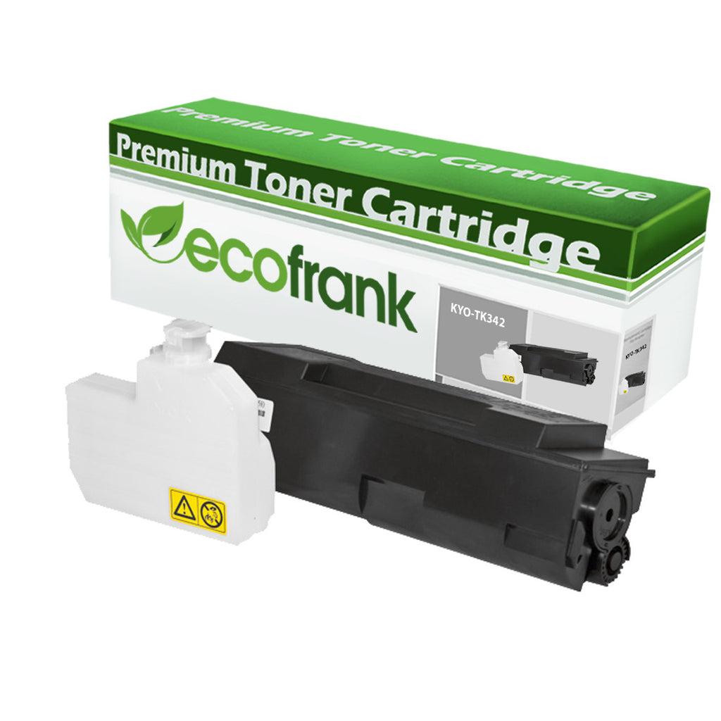 EcoFrank Compatible Toner Cartridge Replacement for Kyocera TK342 1T02J00US0 (Black, 1-Pack)