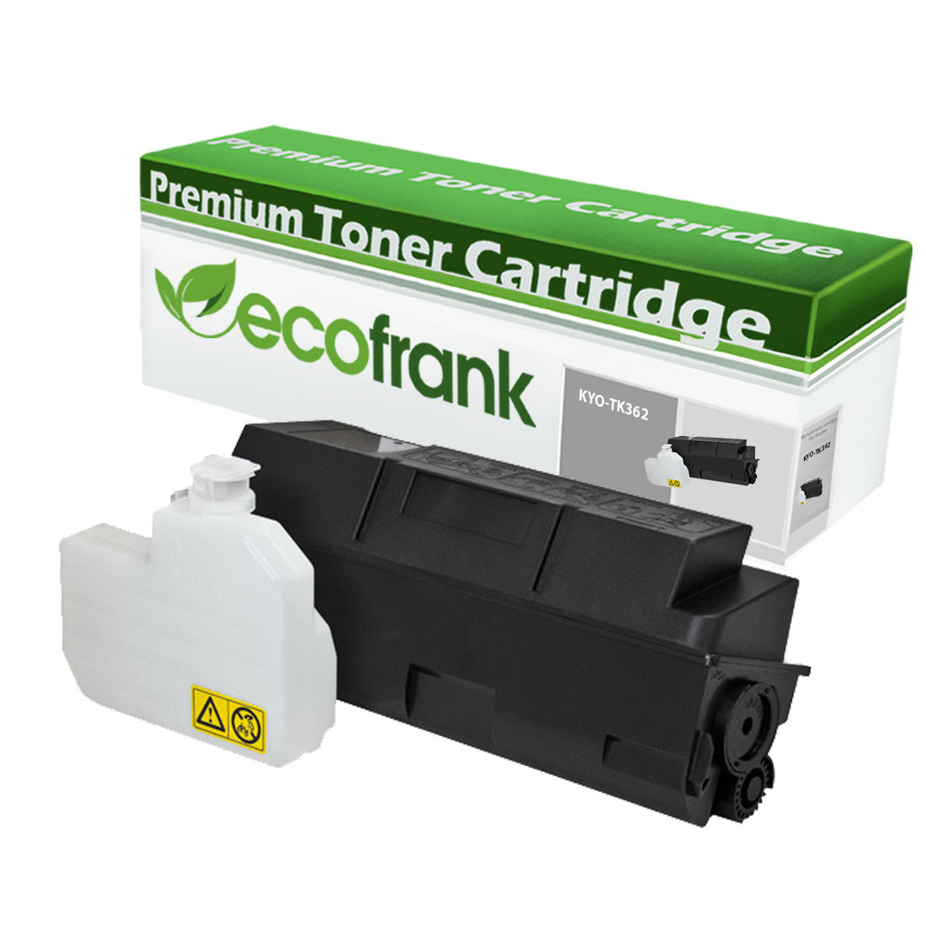 EcoFrank Compatible Toner Cartridge Replacement for Kyocera TK362 1T02J20US0 (Black, 1-Pack)
