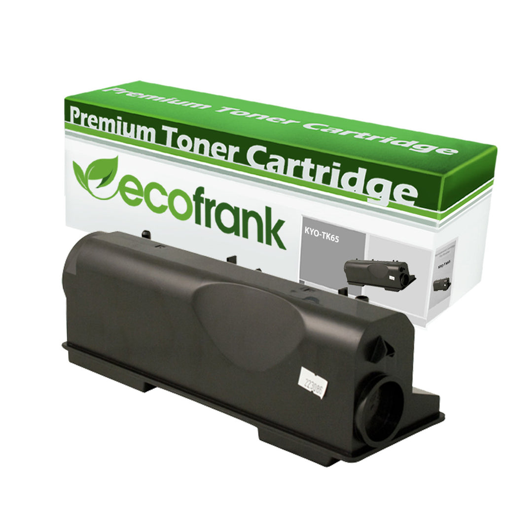 EcoFrank Compatible Toner Cartridge Replacement for Kyocera TK65 TK67 (Black, 1-Pack)