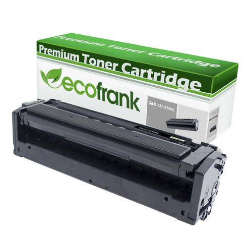 EcoFrank Compatible (High Yield) Toner Cartridge Replacement for Samsung CLT-K506L K506 (Black, 1-Pack)
