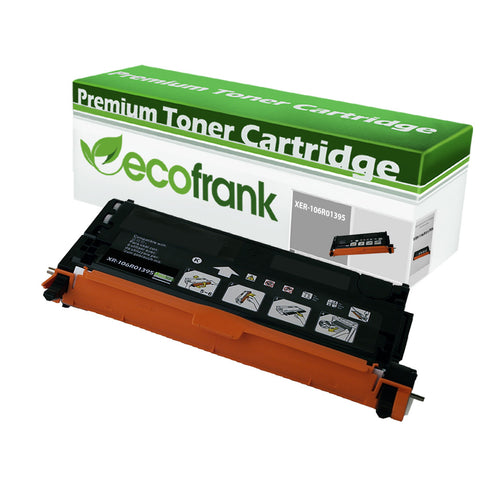 EcoFrank Compatible (High Yield) Toner Cartridge Replacement for XEROX 106R01395 (Black, 1-Pack)