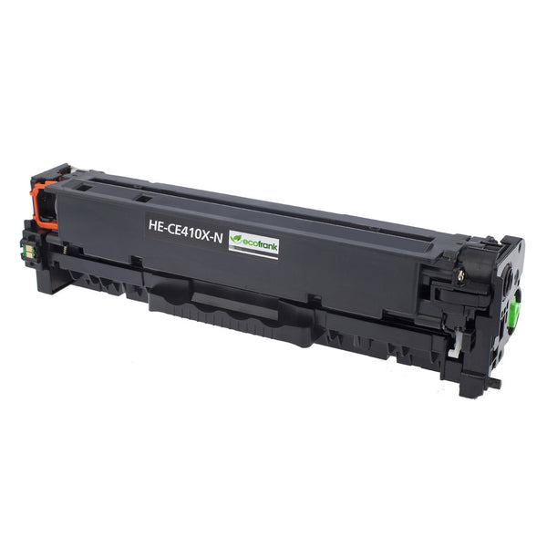 EcoFrank Compatible High Yield Toner Cartridge Replacement for HP 305X CE410X (Black, 2-Pack)