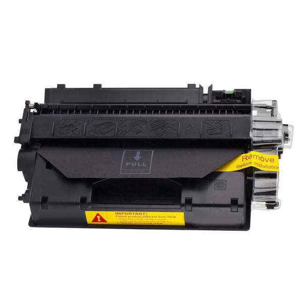EcoFrank Compatible High Yield Toner Cartridge Replacement for HP 80X CF280X (Black, 4-Pack)