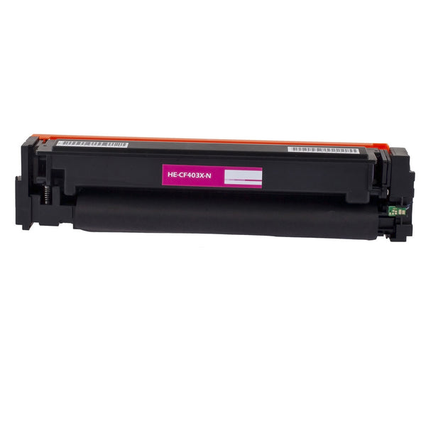 EcoFrank Compatible High Yield Toner Cartridge Replacement for HP 201X CF403X (Magenta, 1-Pack)