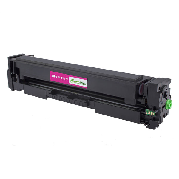 EcoFrank Compatible Toner Cartridge Replaces Set HP 201X CF400X CF401X CF402X